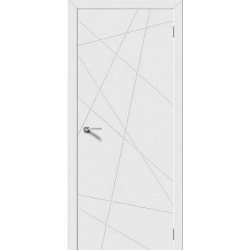 Дверь Luxor Line белая эмаль, глухая