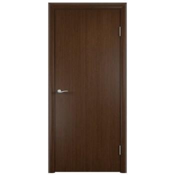 Усиленная гладкая шпонированная дверь ГОСТ. Венге