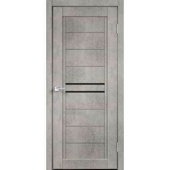 NEXT 2 Муар светло-серый стекло Лакобель чёрное