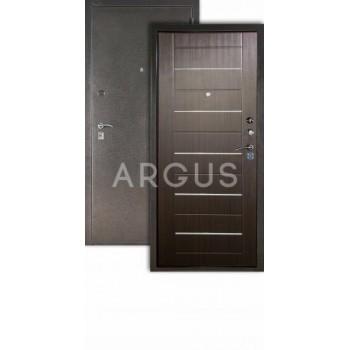 Сейф-дверь  Аргус Люкс ДА-1/2 Серебро антик/ венге тиснёный