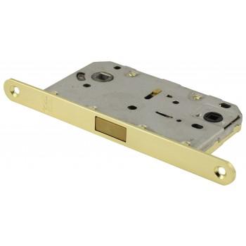 Защёлка сантехническая-межкомнатная матовое золото, магнитная