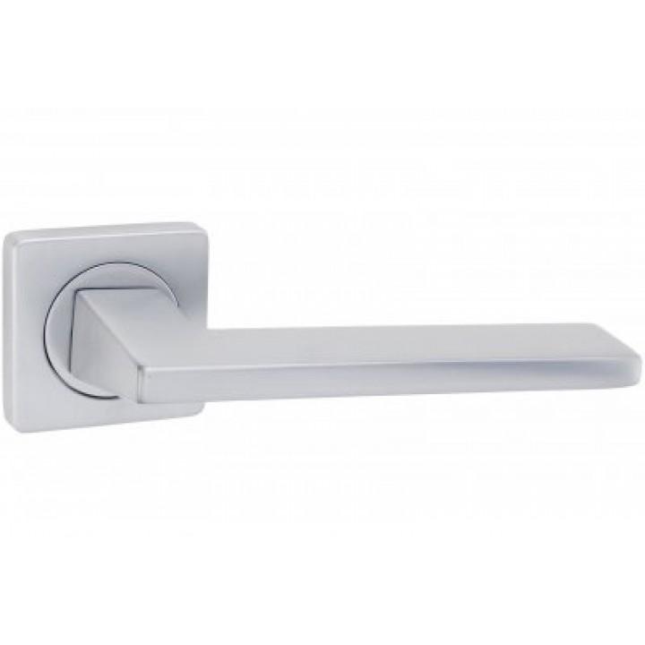 Дверная ручка «V-44 матовый хром »