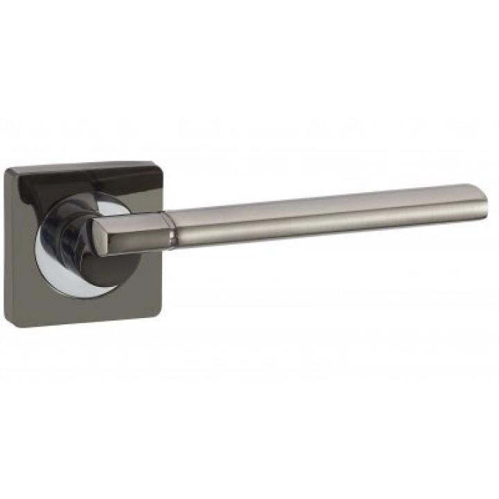 Дверная ручка «V-06 чёрный никель»