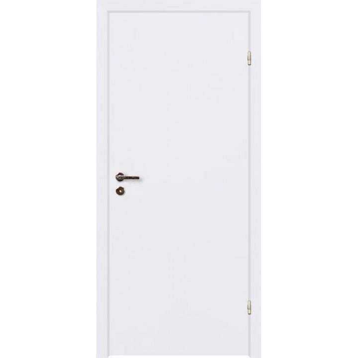 Финская дверь с четвертью белая