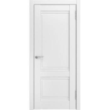 Ульяновская межкомнатная дверь U-51 белый винил
