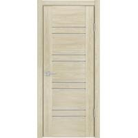 Ульяновская межкомнатная дверь X-2.80 дуб мадейра кварц стекло
