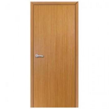 Усиленная гладкая шпонированная дверь ГОСТ.