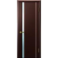 Дверь Legend Синай 1 венге, стекло белое