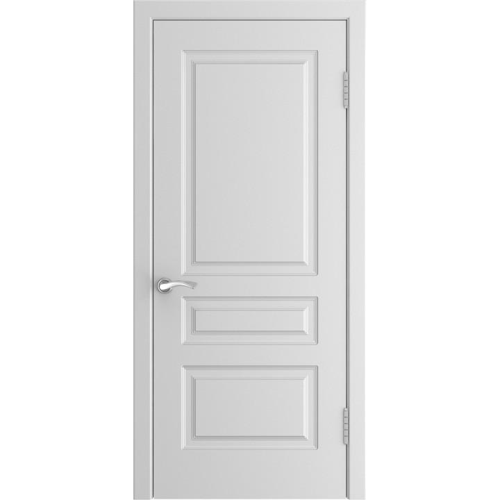 Дверь Luxor L-2 белая эмаль, глухая