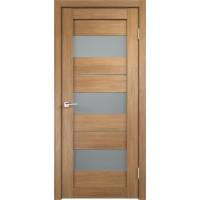 Дверь VellDoris экошпон Duplex 12 дуб золотой, стекло мателюкс