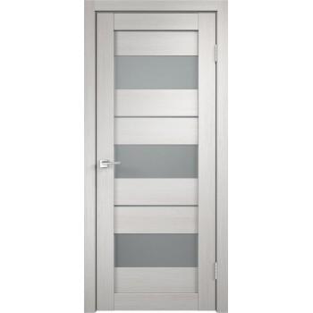 Дверь VellDoris экошпон Duplex 12 дуб белый, стекло мателюкс