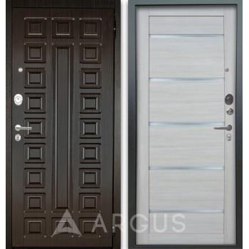 Сейф-дверь Аргус Люкс АС 2П Сенатор Венге/Александра Буксус