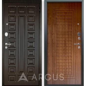 Сейф-дверь Аргус Люкс АС 2П Сенатор Венге/Альма Дуб золотой