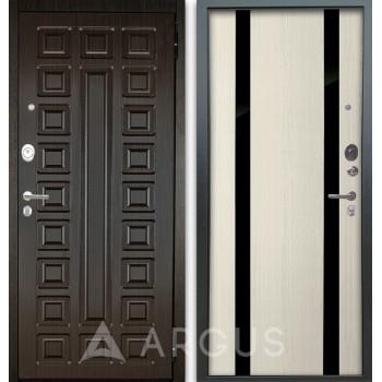 Сейф-дверь Аргус Люкс АС 2П Сенатор Венге/Дуэт Белое дерево