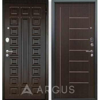 Сейф-дверь Аргус Люкс АС 2П Сенатор Венге/Фриза Венге тисненый