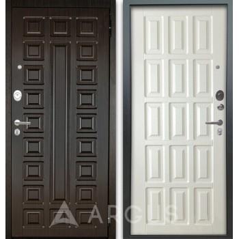 Сейф-дверь Аргус Люкс АС 2П Сенатор Венге/Голд Белое дерево