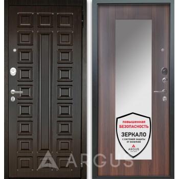 Сейф-дверь Аргус Люкс АС 2П Сенатор Венге/Милли Коньяк Калифорния