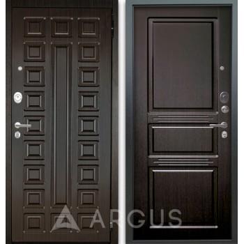 Сейф-дверь Аргус Люкс АС 2П Сенатор Венге/Сабина Венге тисненый