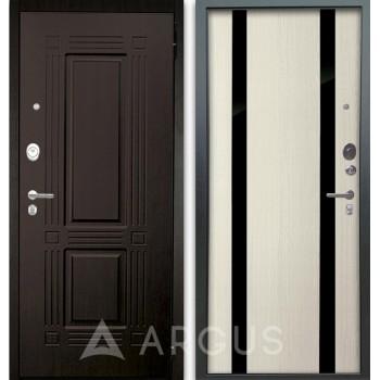 Сейф-дверь Аргус Люкс АС 2П Триумф Венге/Дуэт Белое дерево