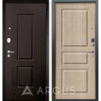 Сейф-дверь Аргус Люкс АС 2П Триумф Венге/Сабина Капучино