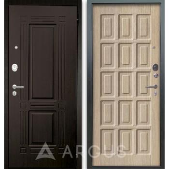 Сейф-дверь Аргус Люкс АС 2П Триумф Венге/Шоколад Капучино