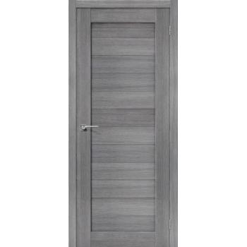 Дверь Браво Порта-21 экошпон грей вералинга, глухая