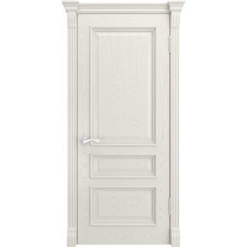 Дверь Luxor Гера-2 дуб RAL 9010, глухая