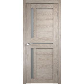 Дверь VellDoris экошпон Duplex 3 капучино, стекло мателюкс