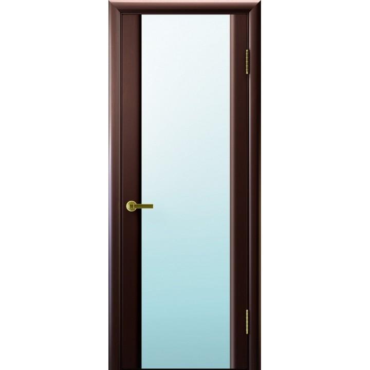 Дверь Legend Синай 3 венге, стекло белое