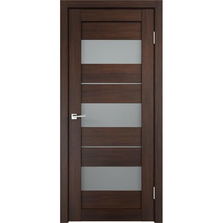 Дверь VellDoris экошпон Duplex 12 венге, стекло мателюкс