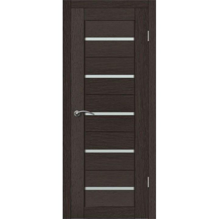 Дверь VellDoris экошпон Duplex 1 венге, стекло мателюкс