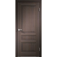 Дверь VellDoris экошпон Laura 3P венге браш, глухая