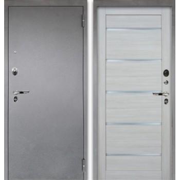 Сейф-дверь Аргус Люкс ПРО Серебро антик Александра Буксус