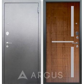 Сейф-дверь Аргус Люкс АС Серебро антик Альфред Дуб золотой