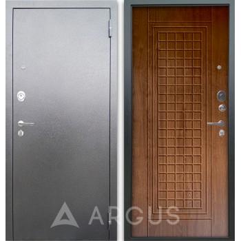 Сейф-дверь Аргус Люкс АС Серебро антик Альма Дуб золотой