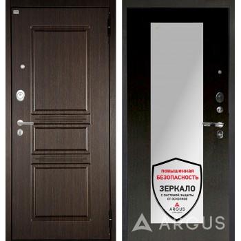 Сейф-дверь Аргус Люкс АС 2П Сабина Венге/Милли Венге тисненый