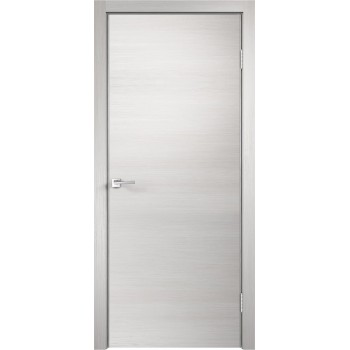 Дверь VellDoris экошпон Techno дуб белый, глухая