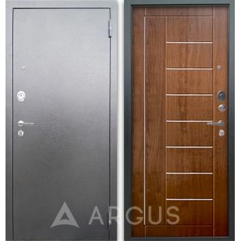 Сейф-дверь Аргус Люкс АС Серебро антик Фриза Дуб золотой