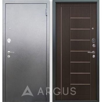 Сейф-дверь Аргус Люкс АС Серебро антик Фриза Венге тисненый
