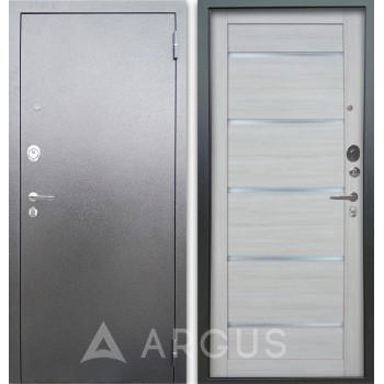 Сейф-дверь Аргус Люкс АС Серебро антик Александра Буксус