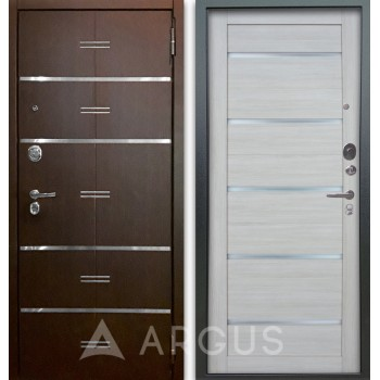Сейф-дверь Аргус Люкс АС 2П Лайн Венге/Александра Буксус