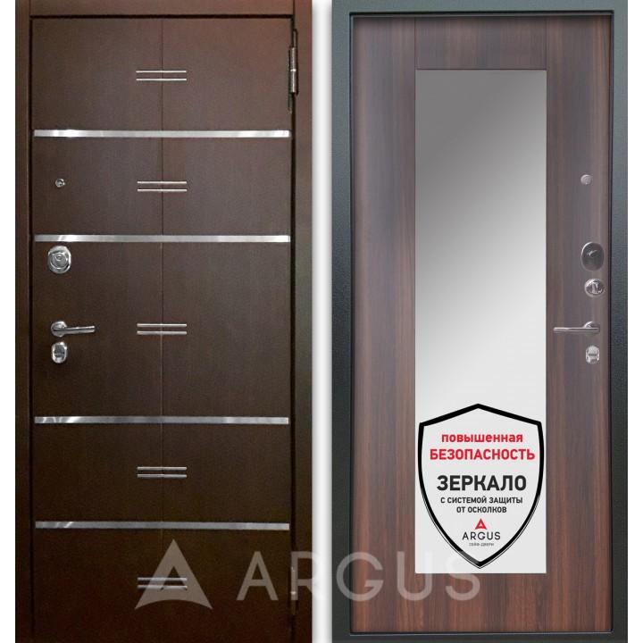 Сейф-дверь Аргус Люкс АС 2П Лайн Венге/Милли Коньяк Калифорния