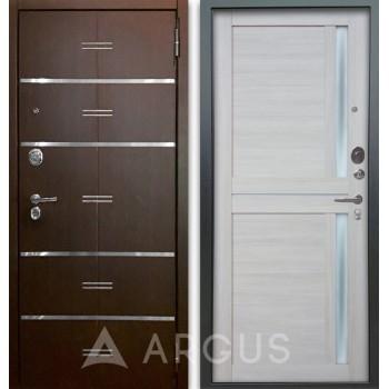 Сейф-дверь Аргус Люкс АС 2П Лайн Венге/Мирра Буксус