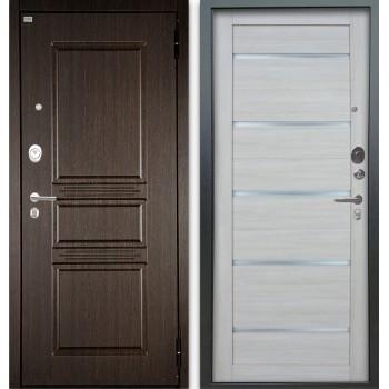 Сейф-дверь Аргус Люкс АС 2П Сабина Венге/Александра Буксус