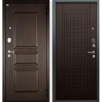 Сейф-дверь Аргус Люкс АС 2П Сабина Венге/Альма Венге тисненый