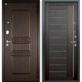 Сейф-дверь Аргус Люкс АС 2П Сабина Венге/Диана Вельвет