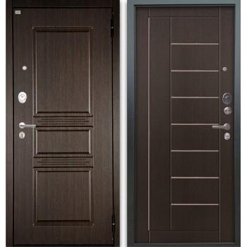 Сейф-дверь Аргус Люкс АС 2П Сабина Венге/Фриза Венге тисненый
