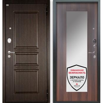 Сейф-дверь Аргус Люкс АС 2П Сабина Венге/Милли Коньяк Калифорния