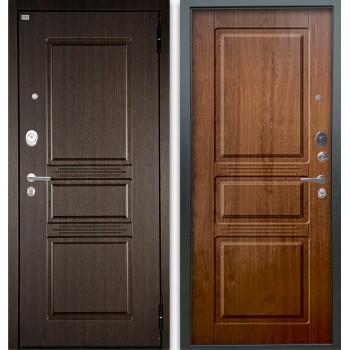 Сейф-дверь Аргус Люкс АС 2П Сабина Венге/Сабина Дуб золотой