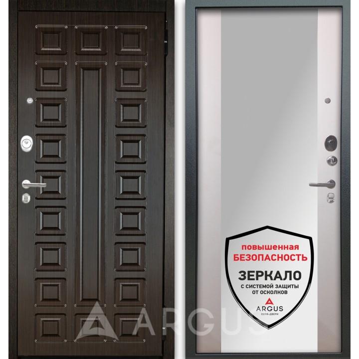 Сейф-дверь Аргус Люкс АС 2П Сенатор Венге/Вояж Белое дерево